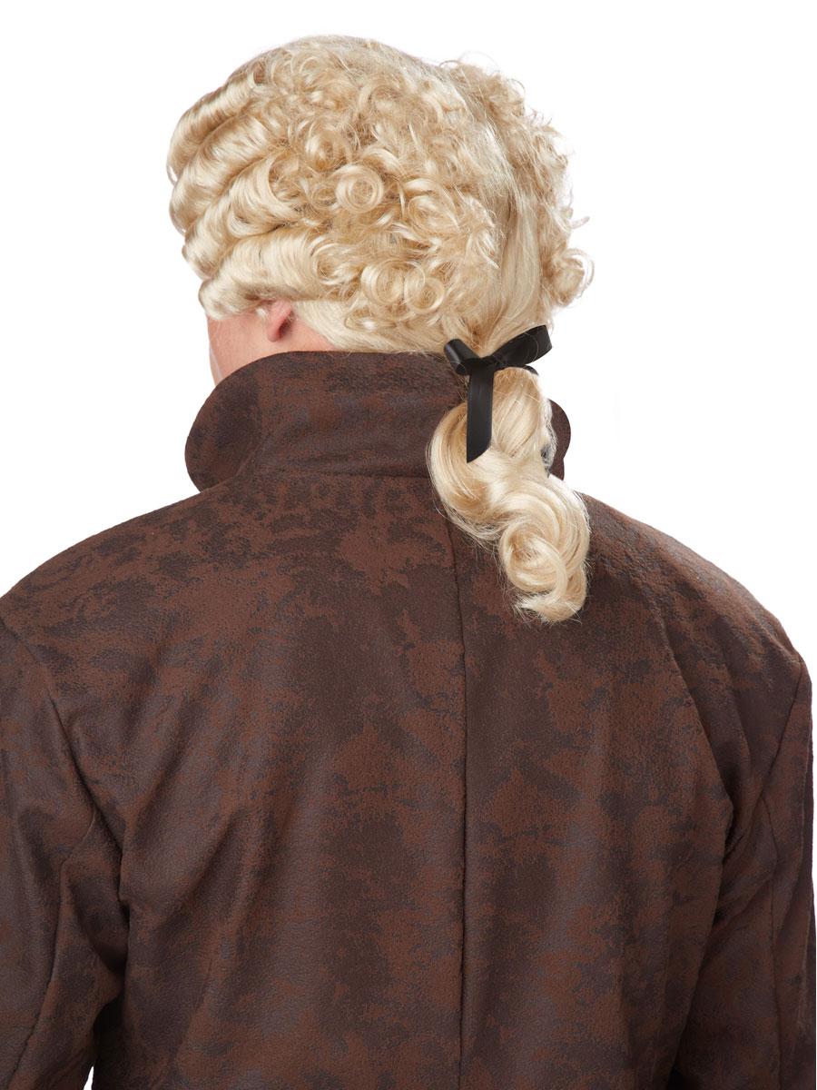 18th Century Blonde Peruke Wig 70701 Fancy Dress Ball
