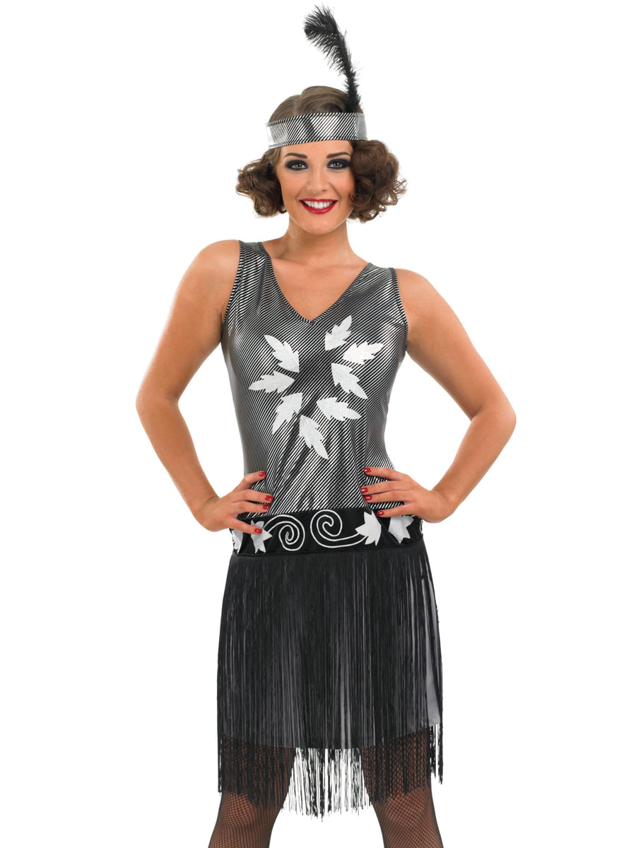 adult 1920's evening dress costume  fs3376  fancy dress ball