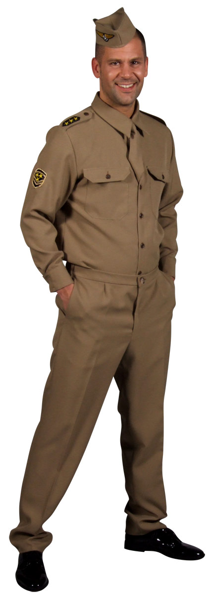 Costumes  gt  1940s Fancy Dress  gt  1940s GI American Army UniformArmy Uniform