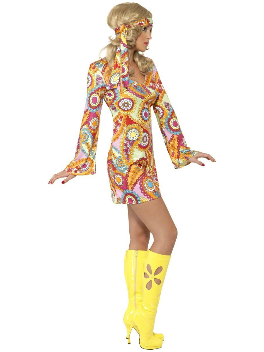 60s Hippie Fancy Dress New Style For 2016 2017