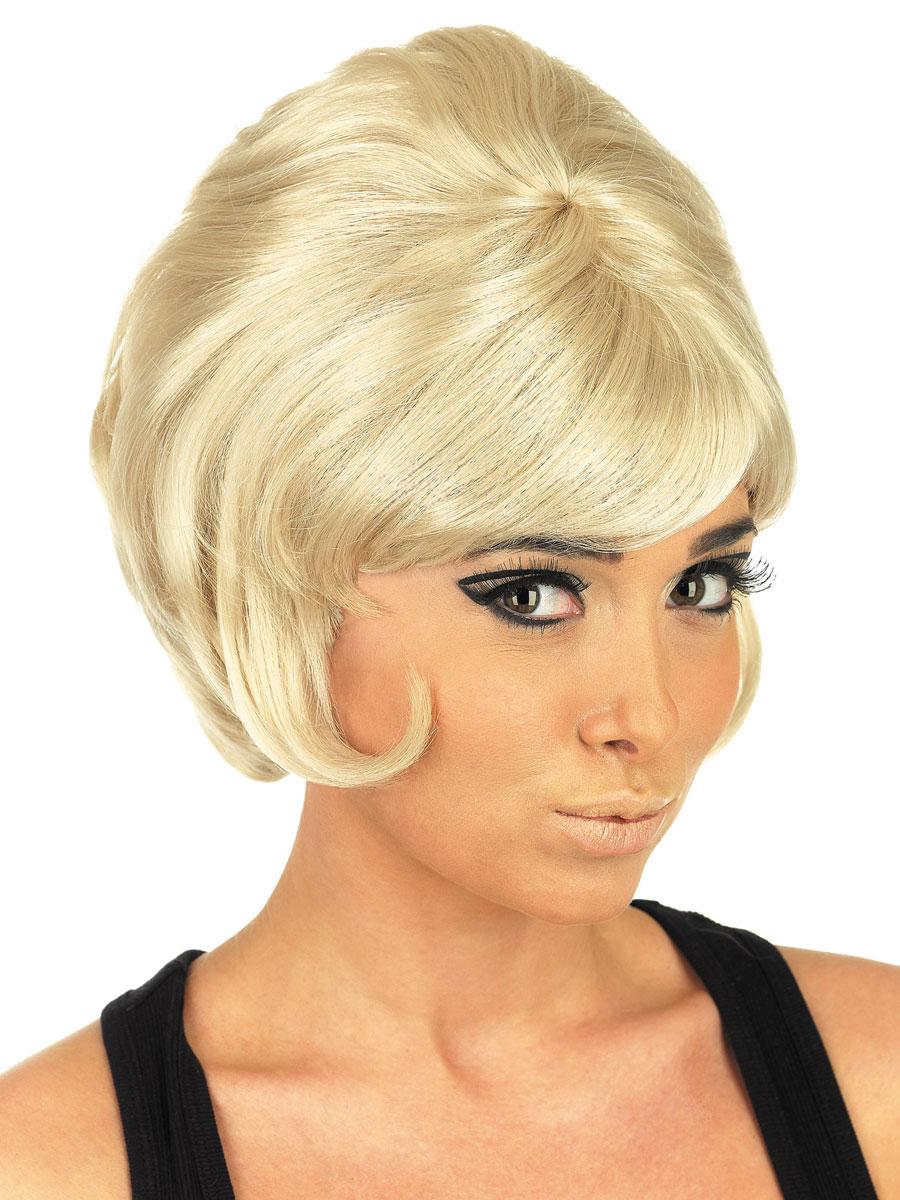 Blond Beehive Wig 79
