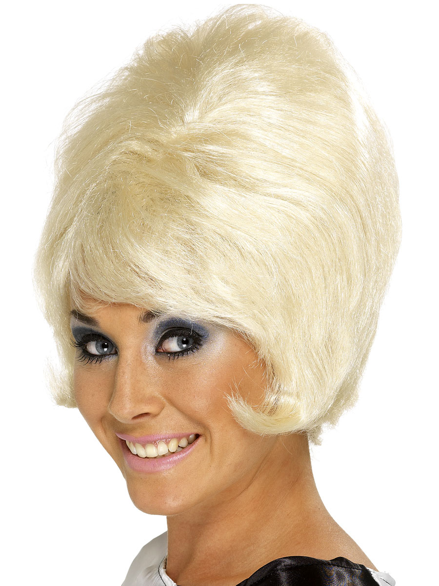 60s Vintage Retro Wigs Fancy Dress Ball