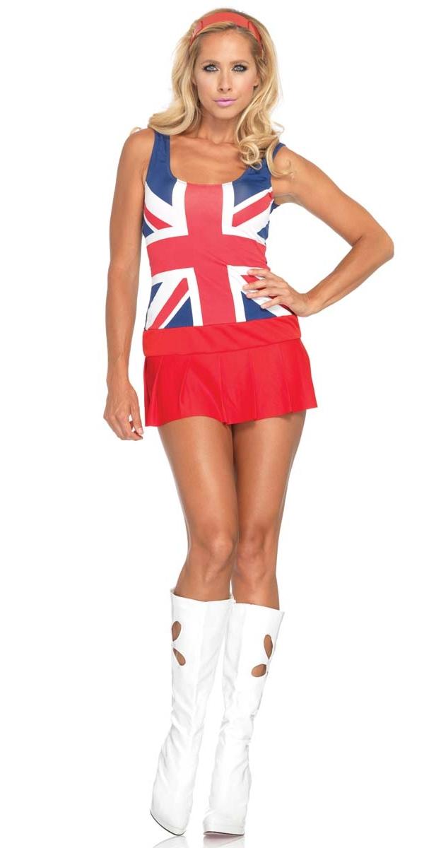 Adult 60 S Cheeky Brit Costume 83769 Fancy Dress Ball