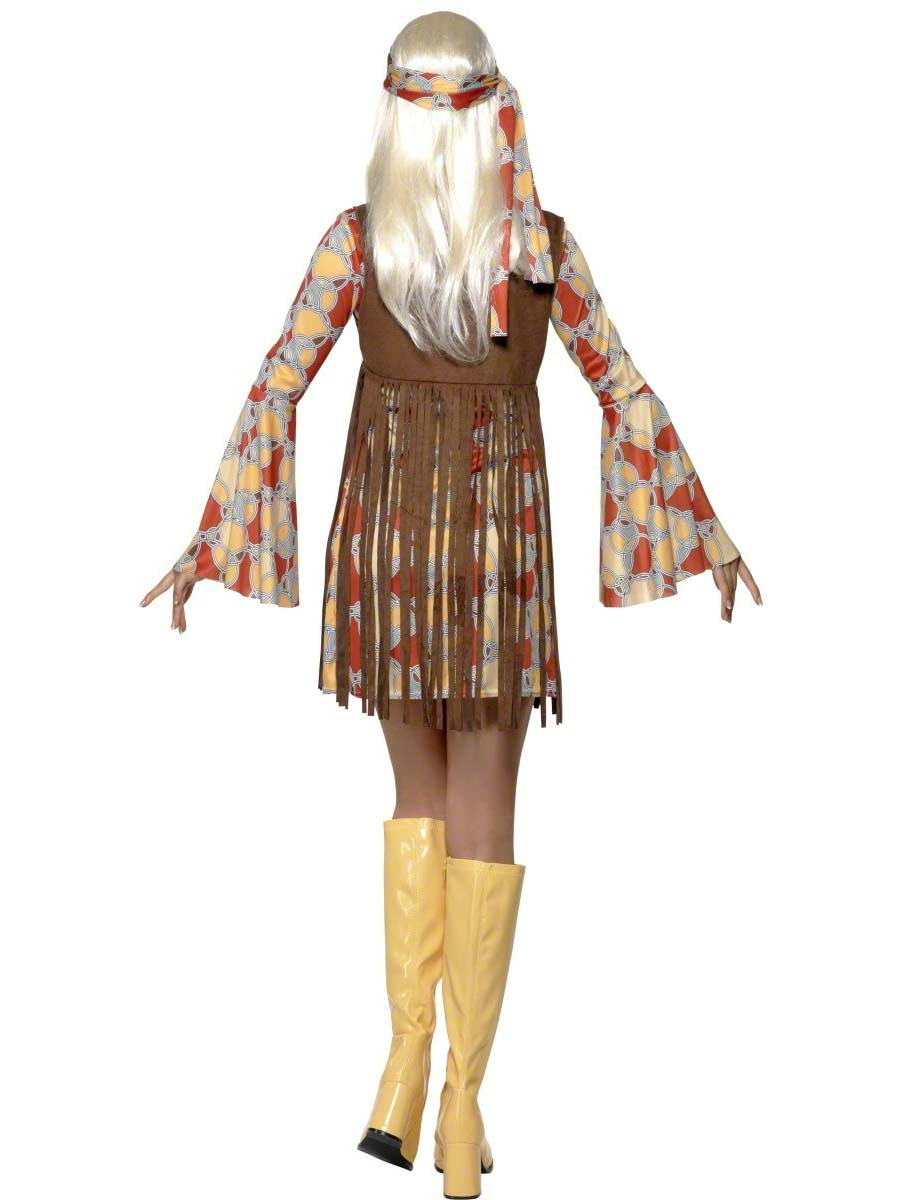 70 S Scarves: Adult 70's Hippie Fringed Costume