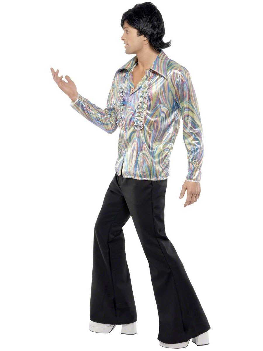Adult 70u0026#39;s Mens Retro Costume - 33841 - Fancy Dress Ball