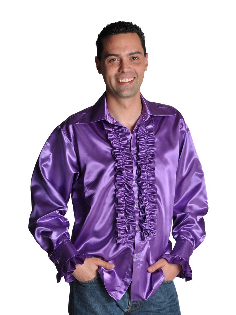 70 39 S Mens Shirt Purple 205201 10 Fancy Dress Ball