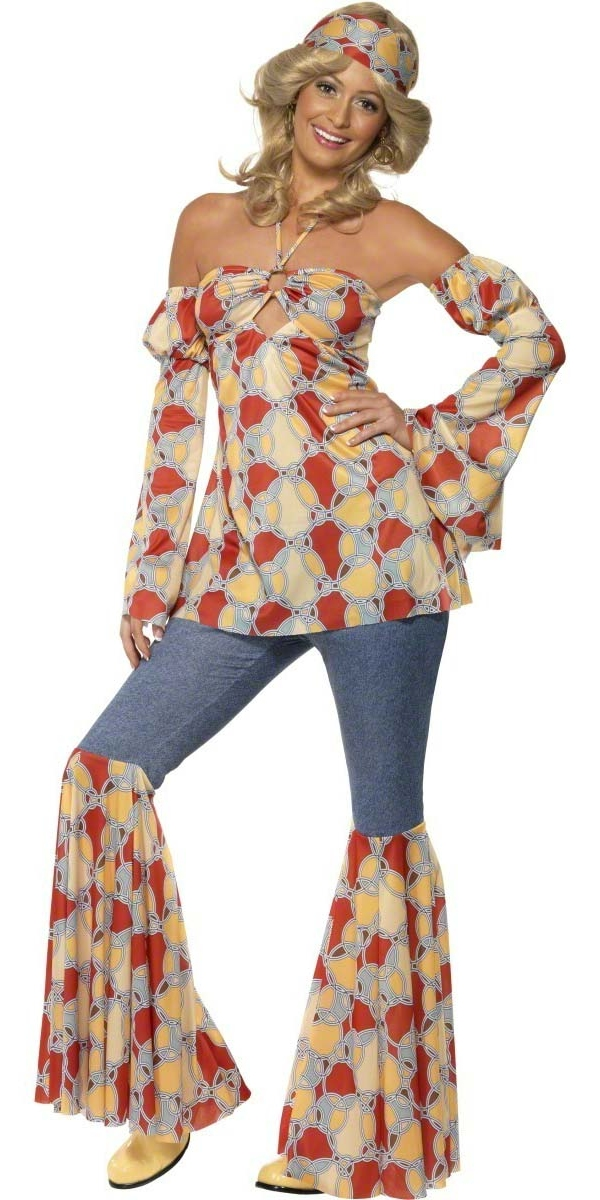 Adult 70's Vintage Hippy Costume - 39434 - Fancy Dress Ball