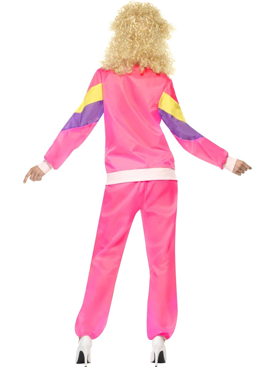 80s Let/'s Get Physical Costume Adult Womens Ladies Neon Fancy Dress Outfit