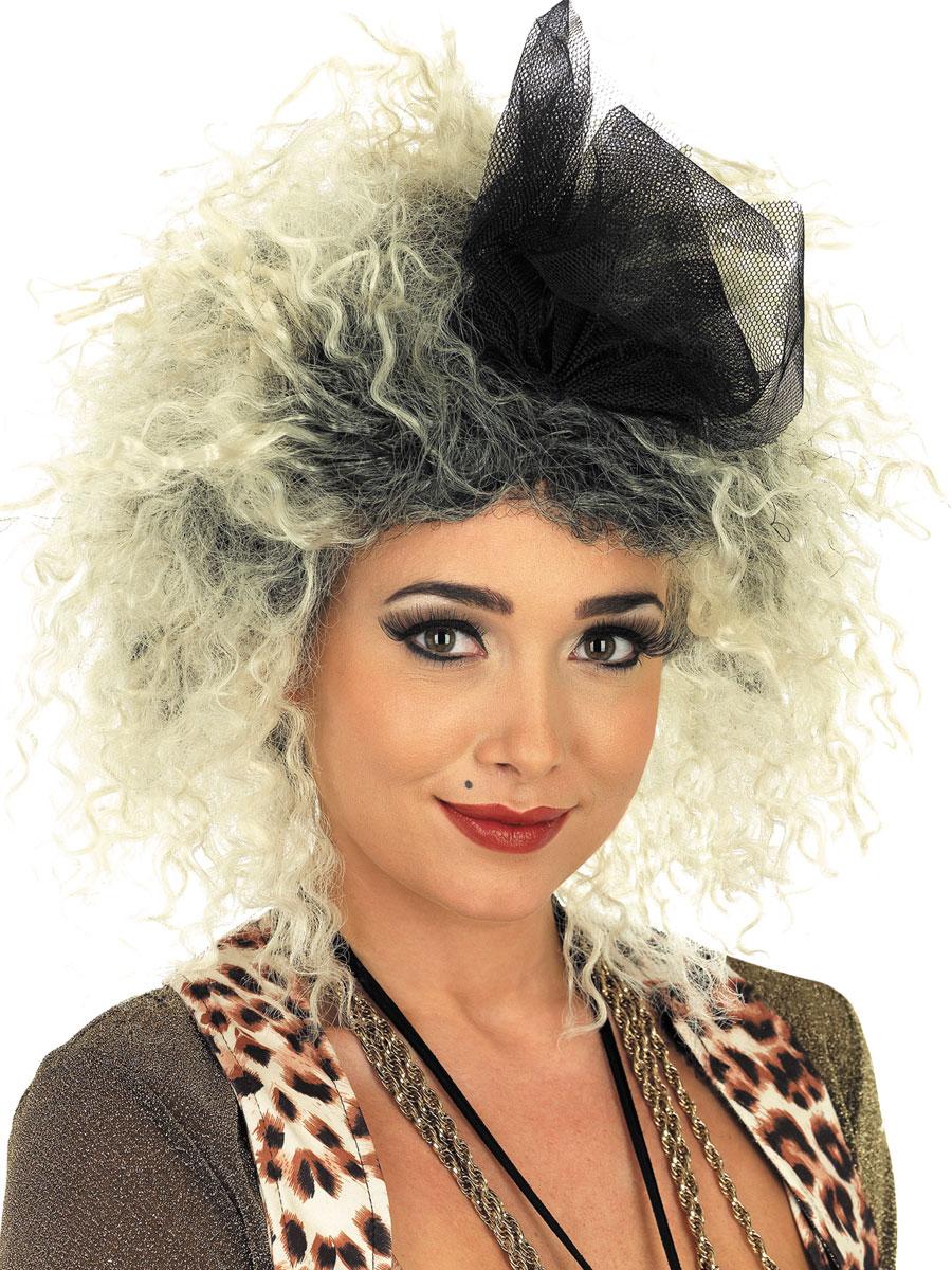 Adult 80s Pop Star Wig Fs2881 Fancy Dress Ball