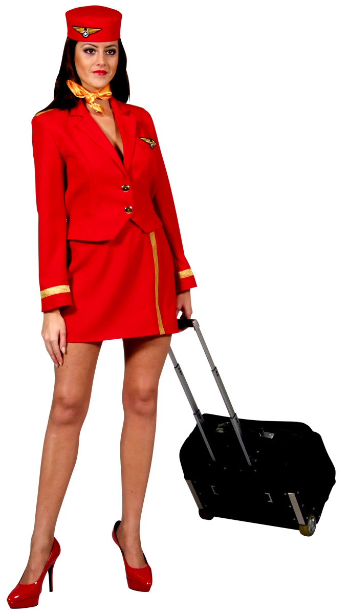 To recieve an automatic email once we have deluxe air hostess costume