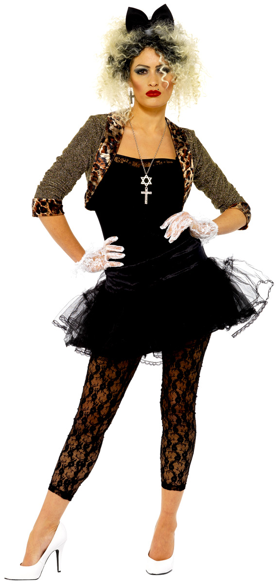 400c5a3c8a Adult 80s Wild Child Costume · Adult 80s Wild Child Costume - Ladies 80's  Fancy Dress