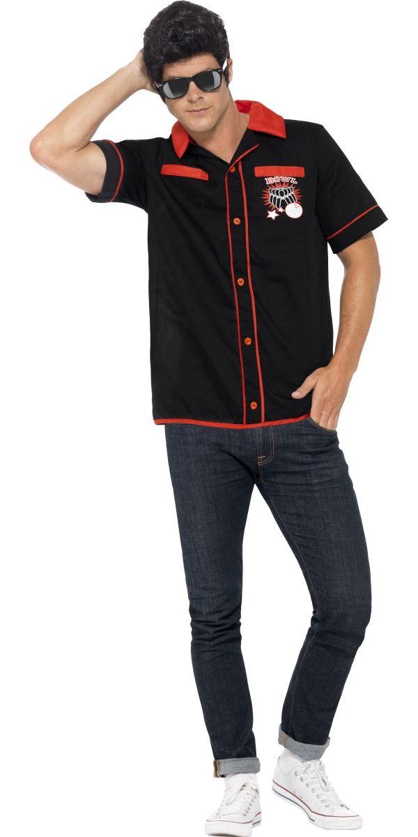 Adult 50 S Bowling Shirt 22432 Fancy Dress Ball