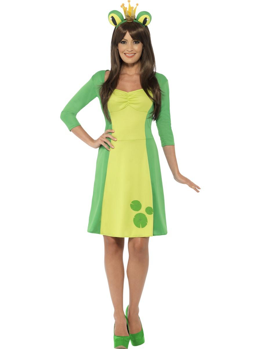 Adult Frog Princess Costume 43398 Fancy Dress Ball