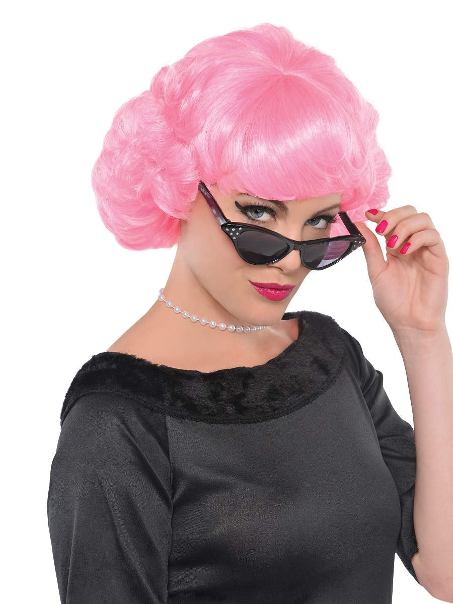 adult 50s frenchy wig 842204 55 fancy dress ball. Black Bedroom Furniture Sets. Home Design Ideas
