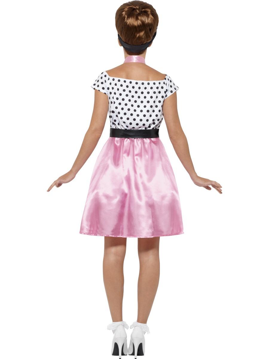 Adult 50s Rock N Roll Costume 45515 Fancy Dress Ball