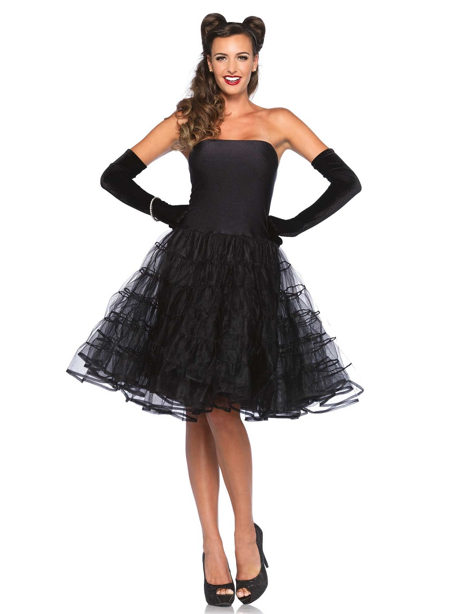 3fc382ea3292 Adult 50s Rockabilly Swing Dress - 85481 - Fancy Dress Ball
