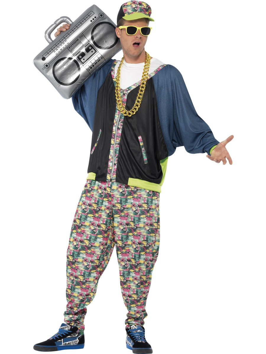 adult 80s hip hop costume 43198 fancy dress ball. Black Bedroom Furniture Sets. Home Design Ideas