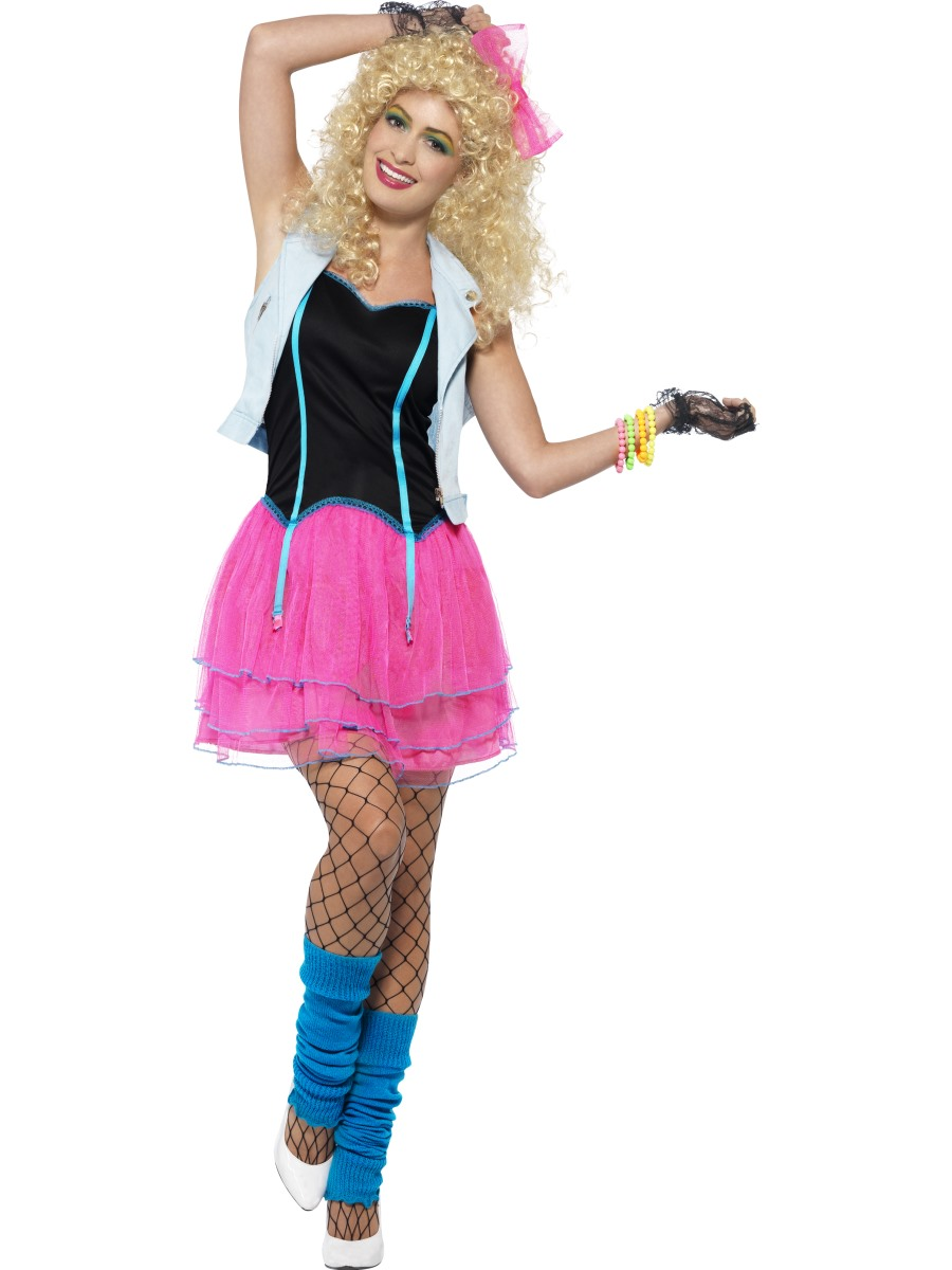 adult 80s wild girl costume   44447   fancy dress ball