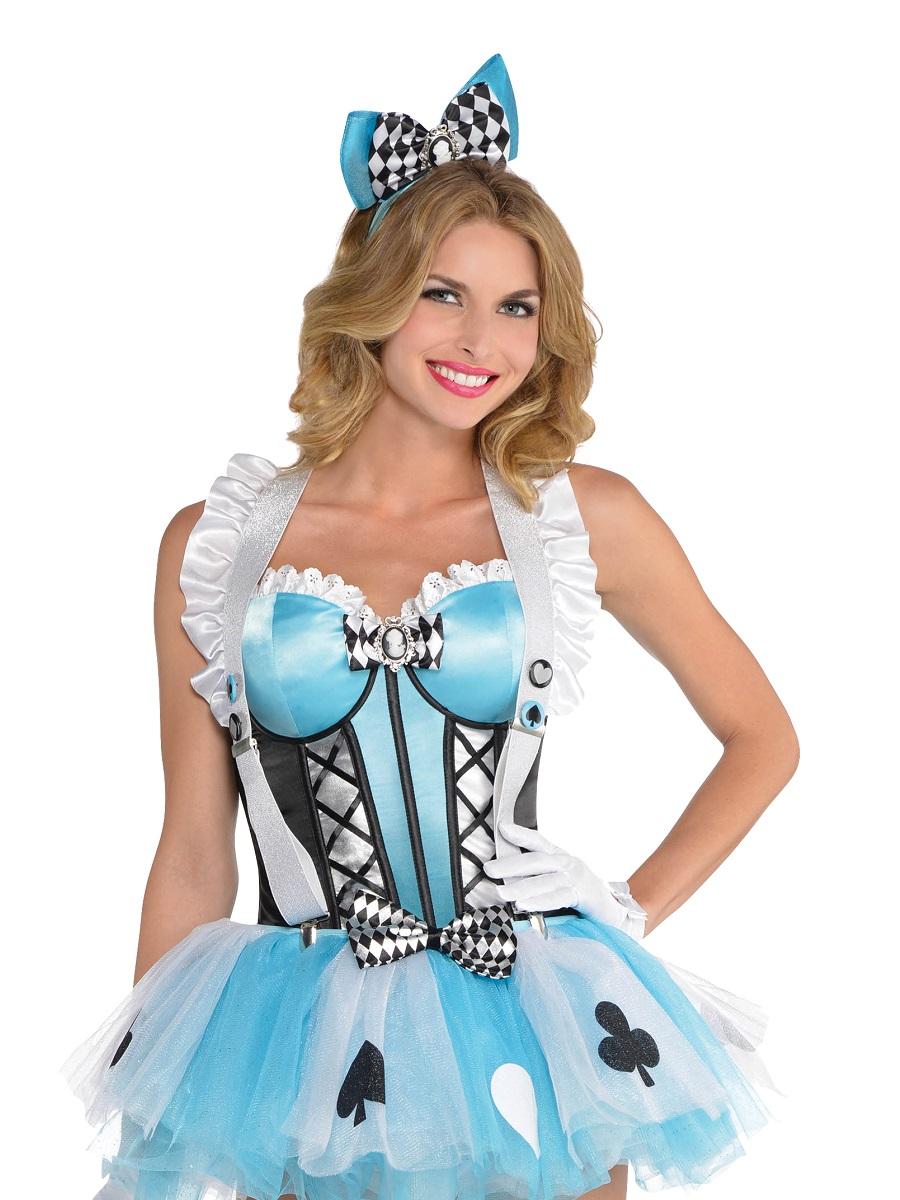 Adult Alice Corset 846484 55 Fancy Dress Ball