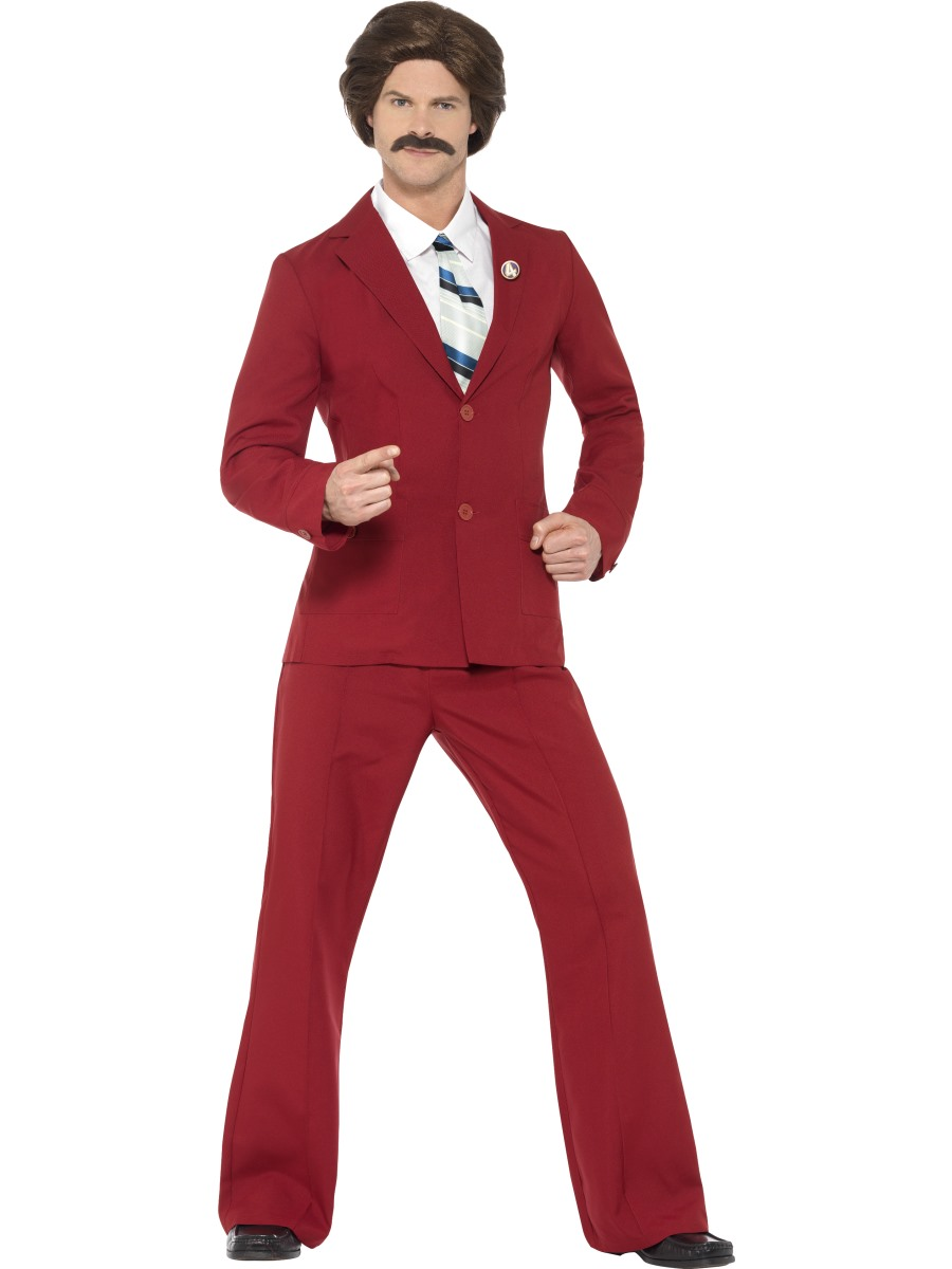 VIEW FULL IMAGE  sc 1 st  Fancy Dress Ball & Adult Anchorman Ron Burgundy Costume - 20501 - Fancy Dress Ball