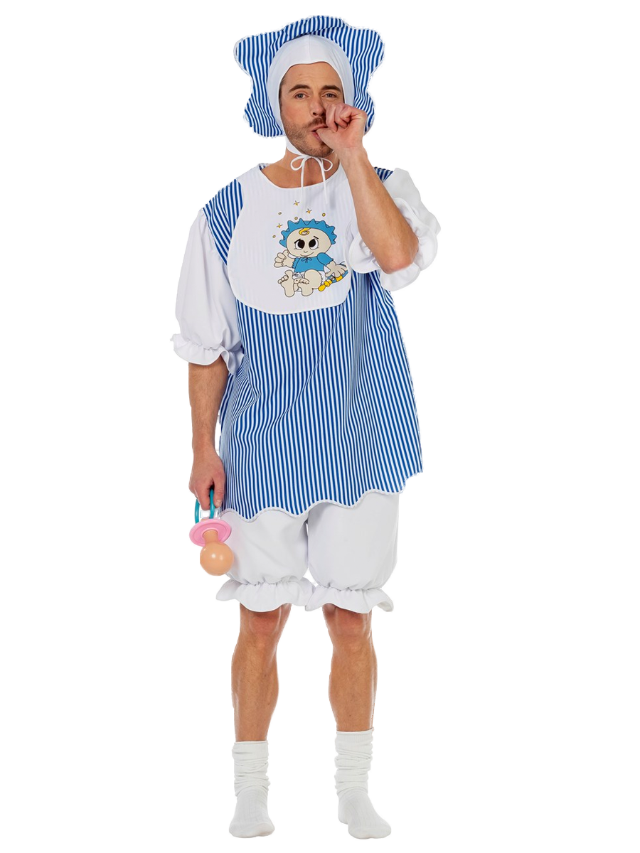 Adult baby boy costume 5587 fancy dress ball - Deguisement couple drole ...