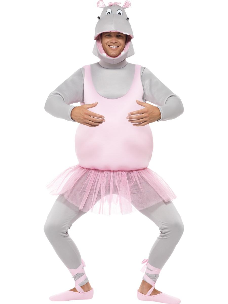 Adult Ballerina Hippo Costume · VIEW FULL IMAGE  sc 1 st  Fancy Dress Ball & Adult Ballerina Hippo Costume - 43393 - Fancy Dress Ball