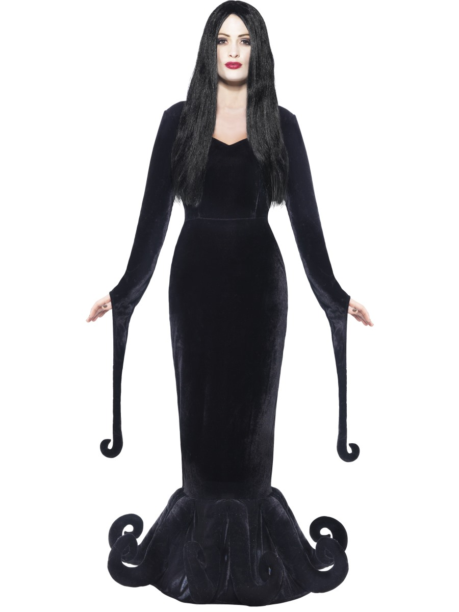 Morticia Costume Addams Family Costumes Wednesday Addams Costume