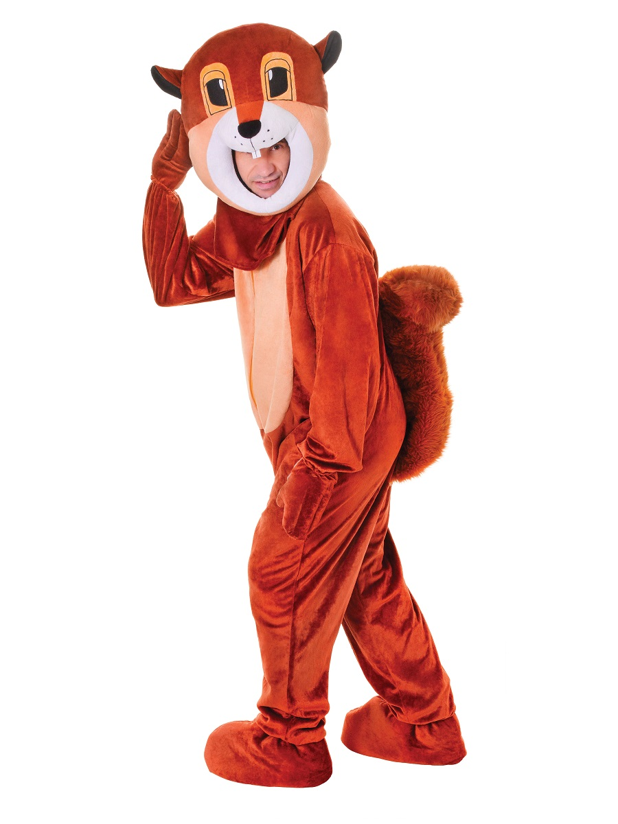 Adult Big Head Squirrel Costume  sc 1 st  Fancy Dress Ball & Adult Big Head Squirrel Costume - AC472 - Fancy Dress Ball