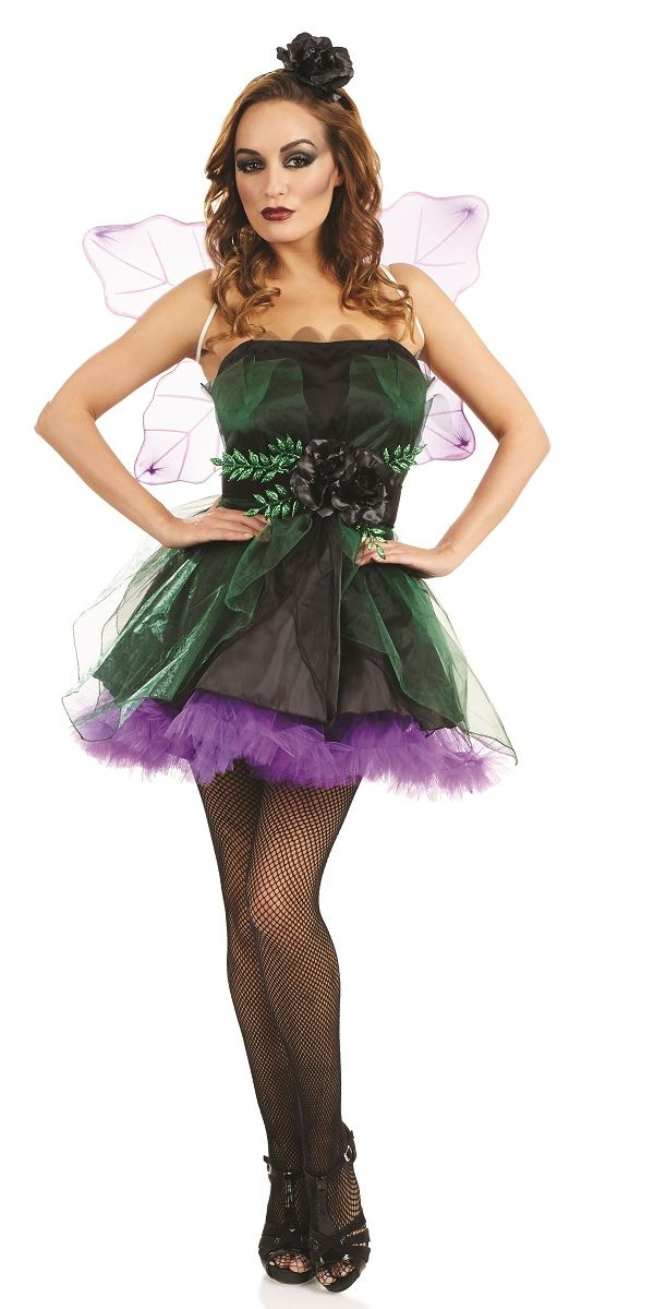 Adult Dark Fairy Nymph Costume  sc 1 st  Fancy Dress Ball & Fairy Costumes Fairy Fancy Dress Costume u0026 Outfits Ideas for Adults