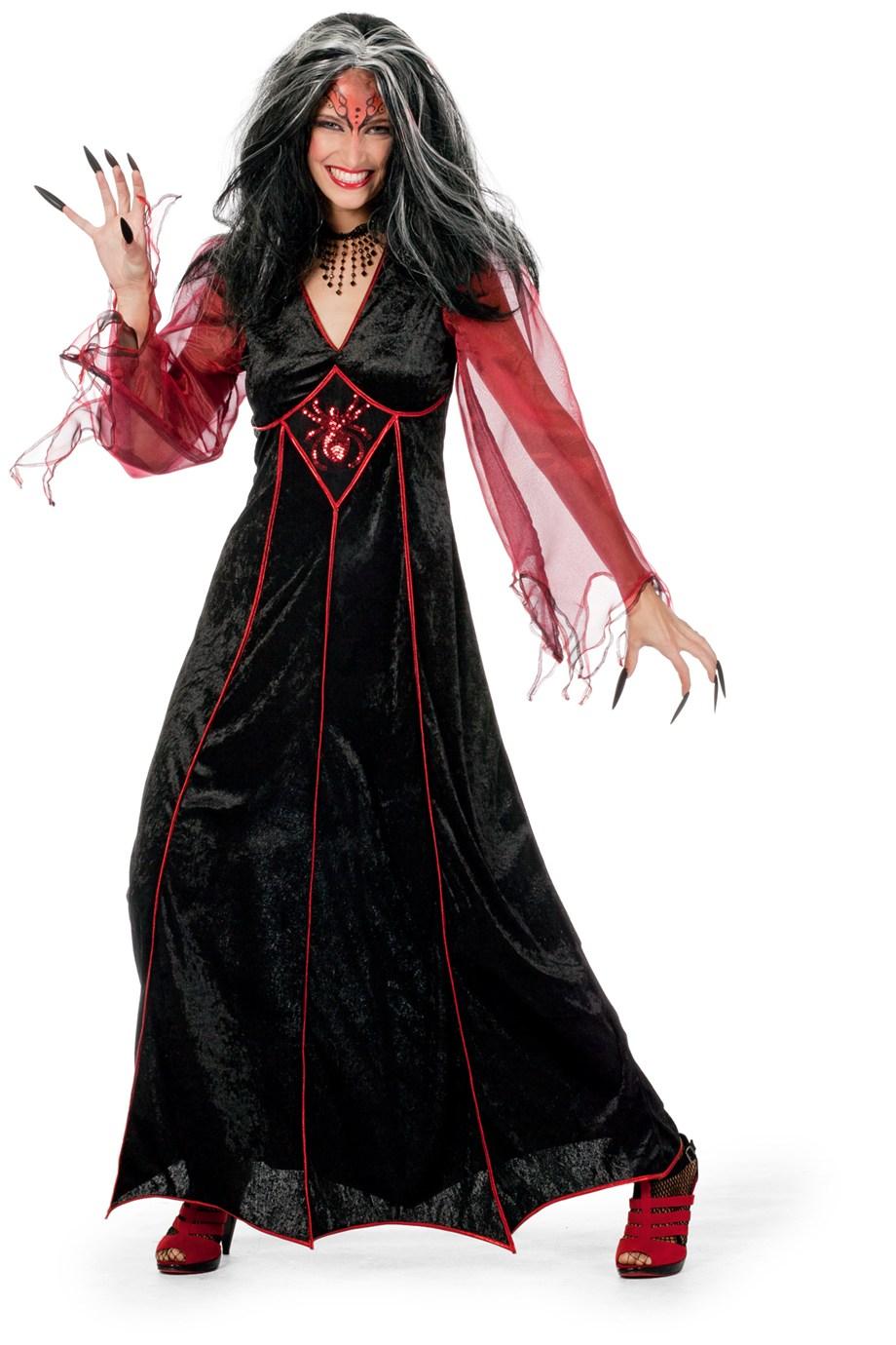 adult black widow costume 4621 fancy dress ball. Black Bedroom Furniture Sets. Home Design Ideas