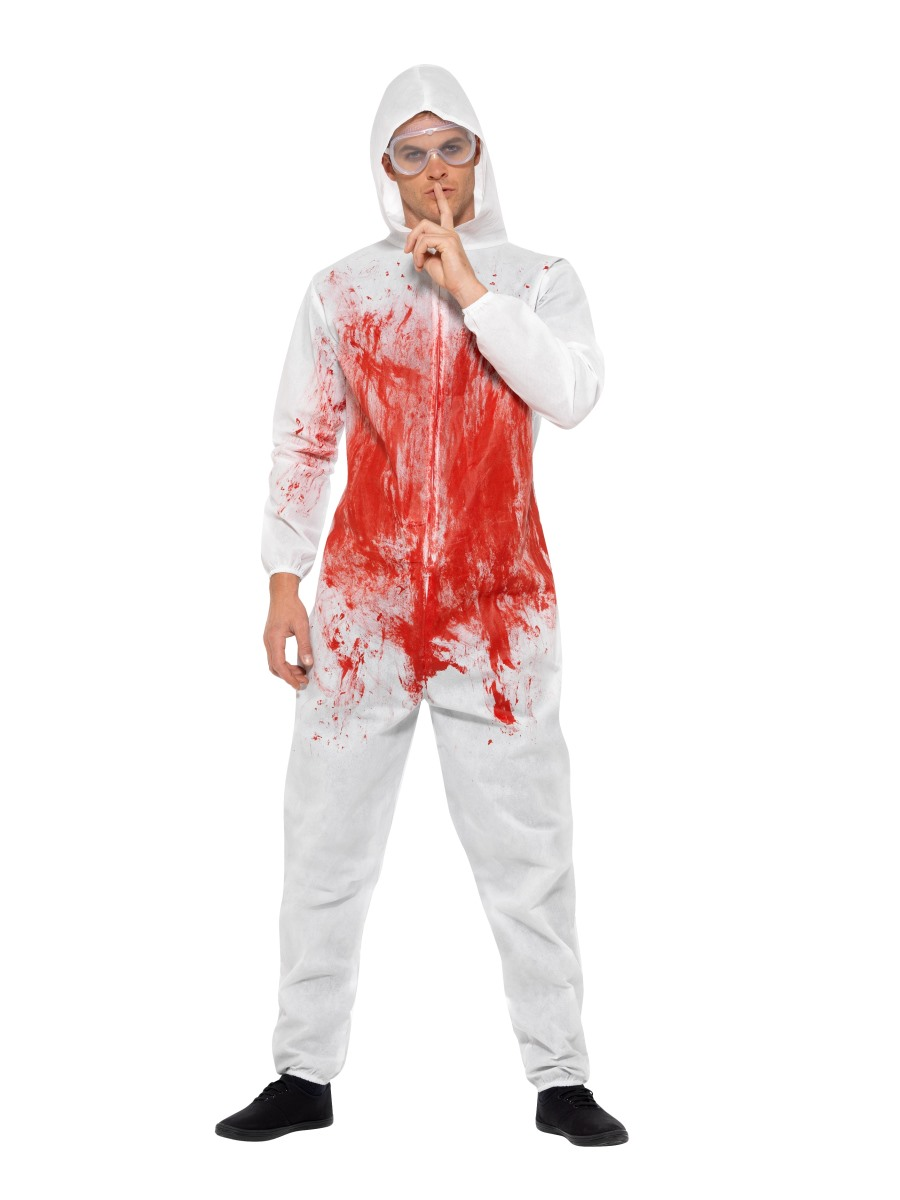 4e698e6786 Adult Bloody Forensic Overall Costume - 40326 - Fancy Dress Ball