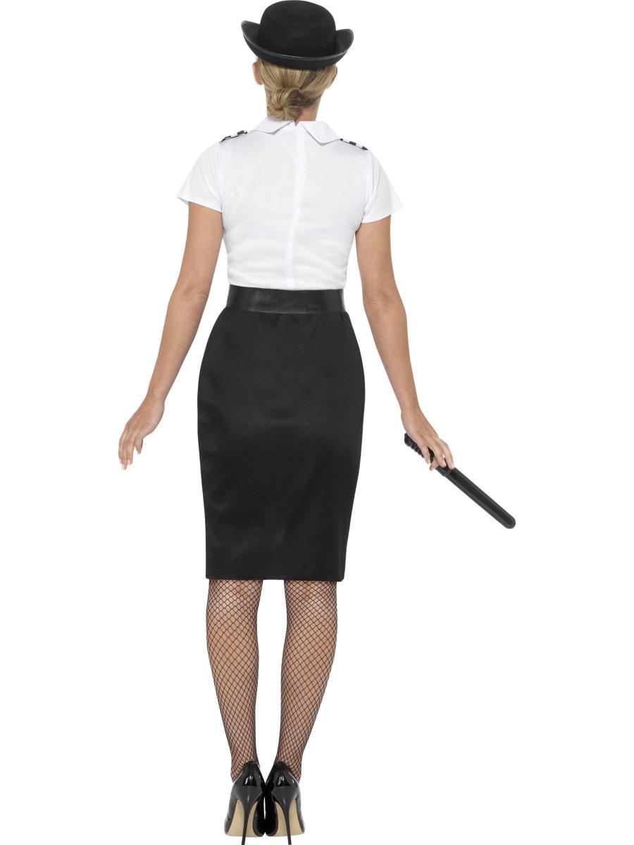 Adult British Police Lady Costume