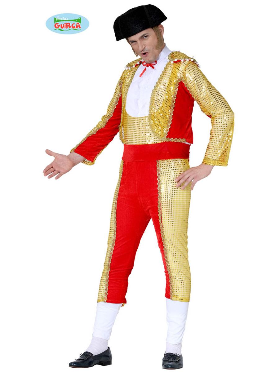 Adult Bullfighter Costume 84638 Fancy Dress Ball