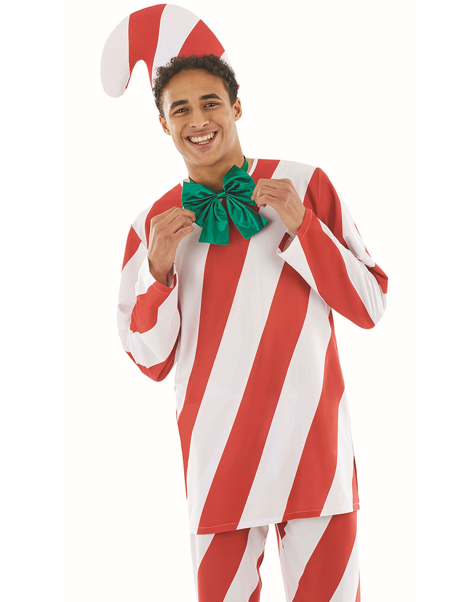 Adult Candy Cane Man · VIEW FULL IMAGE  sc 1 st  Fancy Dress Ball & Adult Candy Cane Man - FS4452 - Fancy Dress Ball