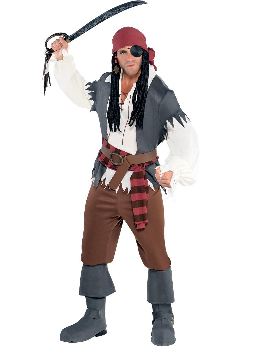 53c2c45455b Adult Captain Castaway Costume