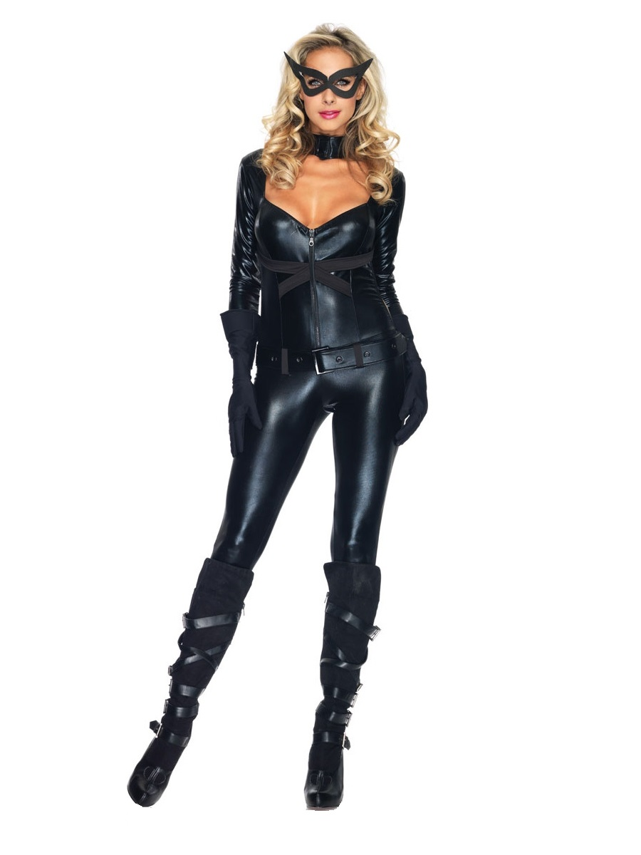 Adult Cat Girl Costume · VIEW FULL IMAGE  sc 1 st  Fancy Dress Ball : cat woman adult costume  - Germanpascual.Com