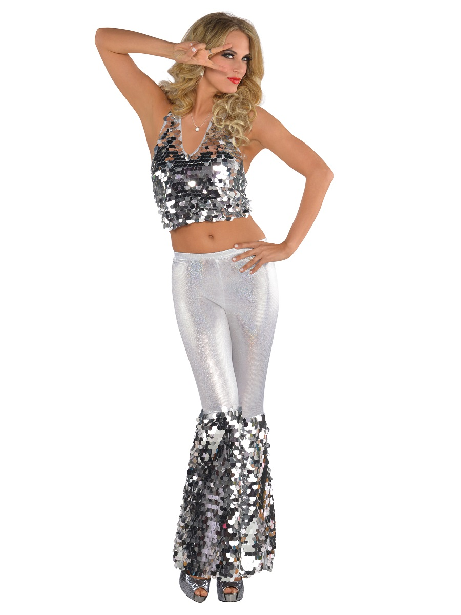 Adult Disco Diva Costume 844153 55 Fancy Dress Ball