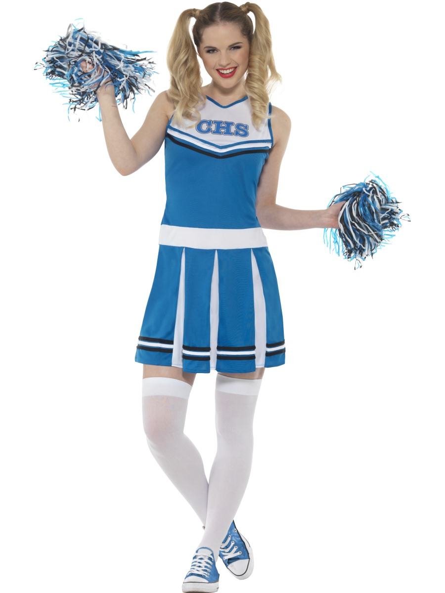 Adult Cheerleader Costume Couples Costume  sc 1 st  Fancy Dress Ball : monster cheerleader costume  - Germanpascual.Com