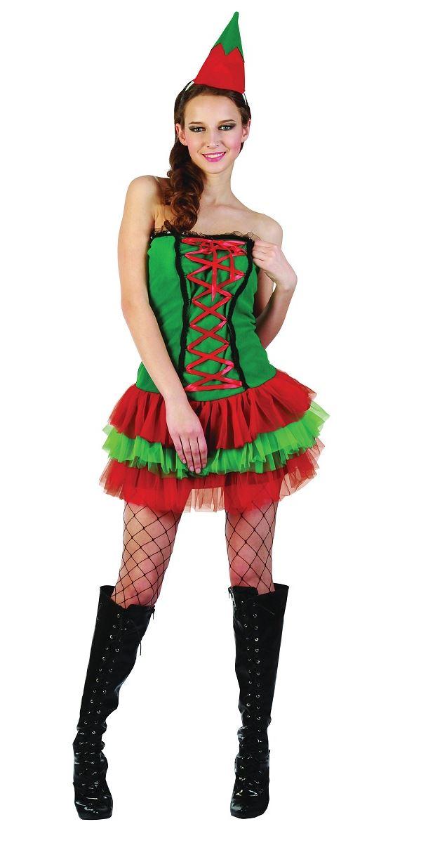 Adult Elf Fancy Dress 55