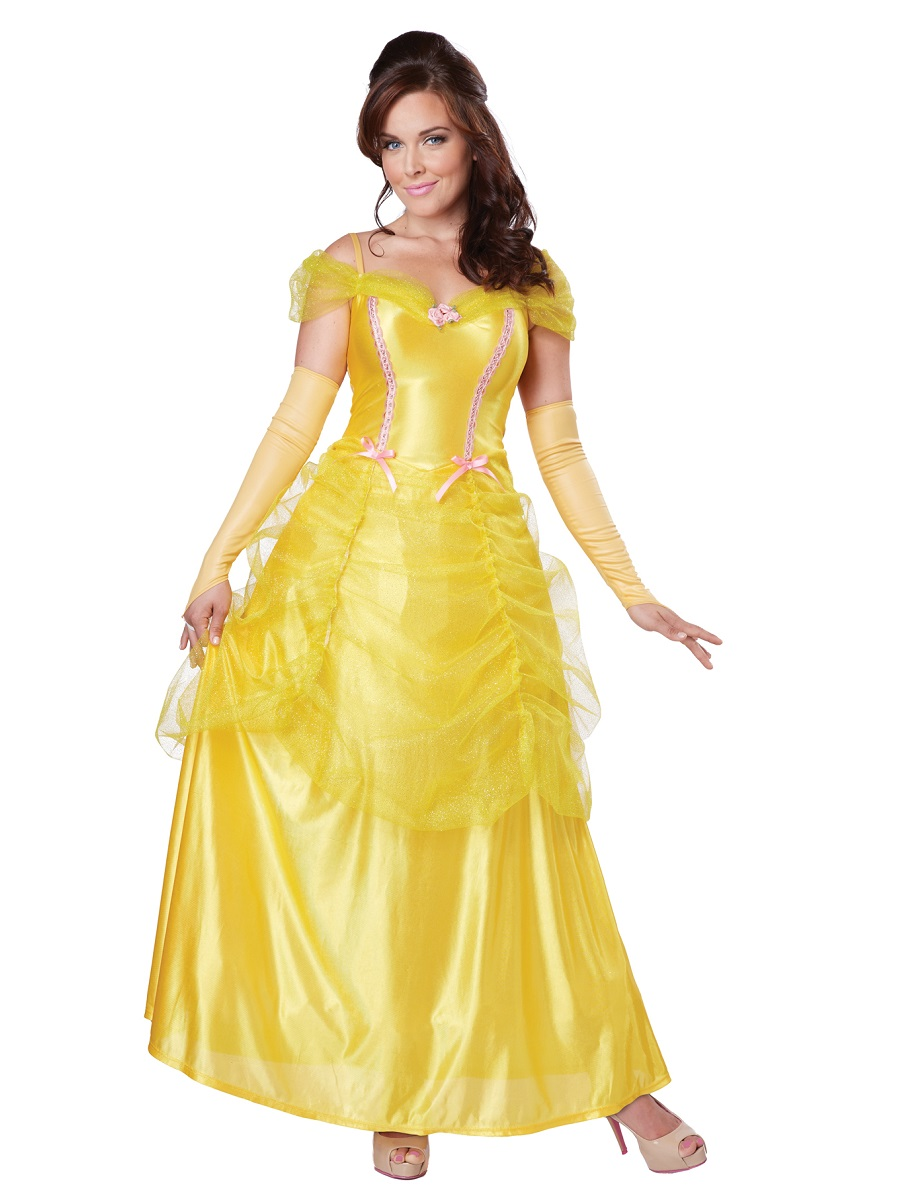 Elegant  White Princess Costume Disney Fancy Dress Up Halloween Outfit  EBay