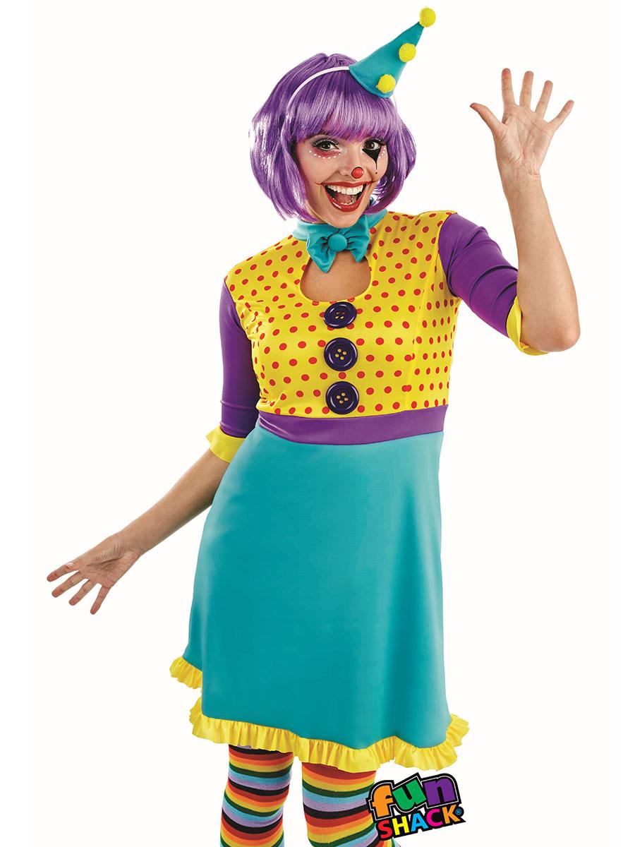 adult clown girl costume fs4336 fancy dress ball