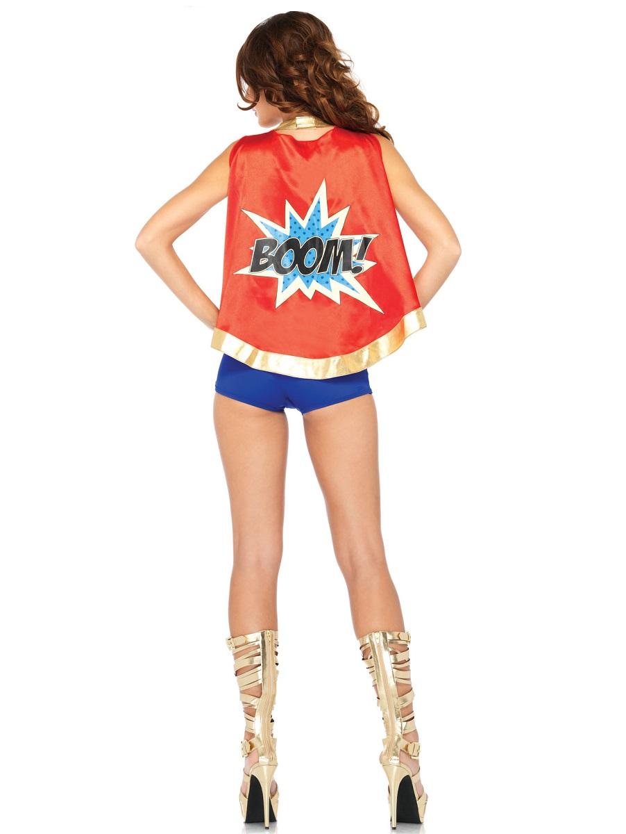 Adult Comic Book Girl Costume 85224 Fancy Dress Ball