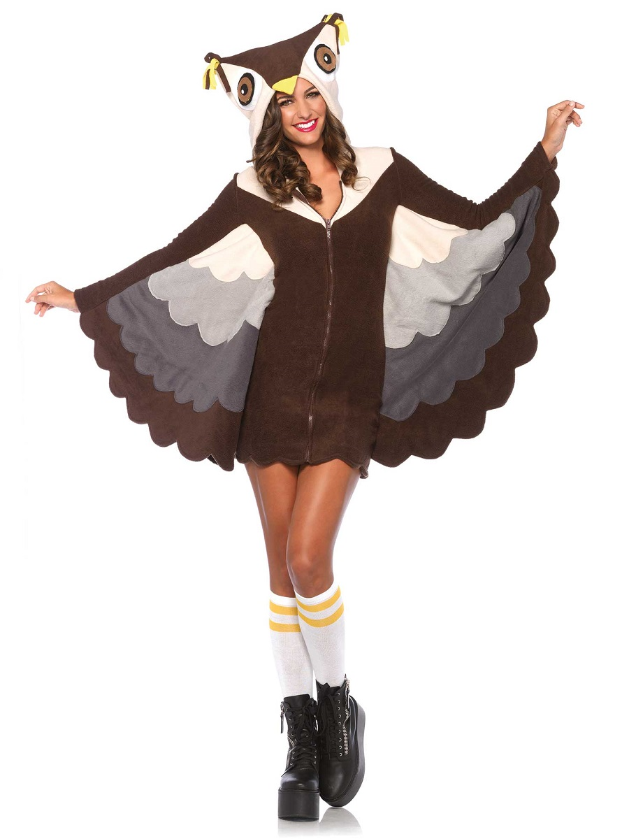 adult cozy owl costume 85500 fancy dress ball. Black Bedroom Furniture Sets. Home Design Ideas