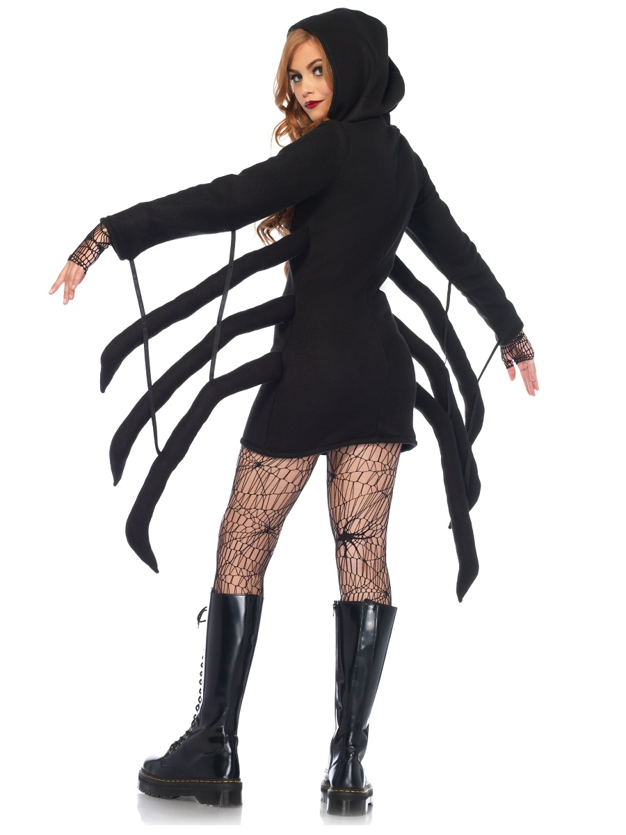 00967936edd19 Adult Cozy Spider Costume - Back View · VIEW FULL IMAGE