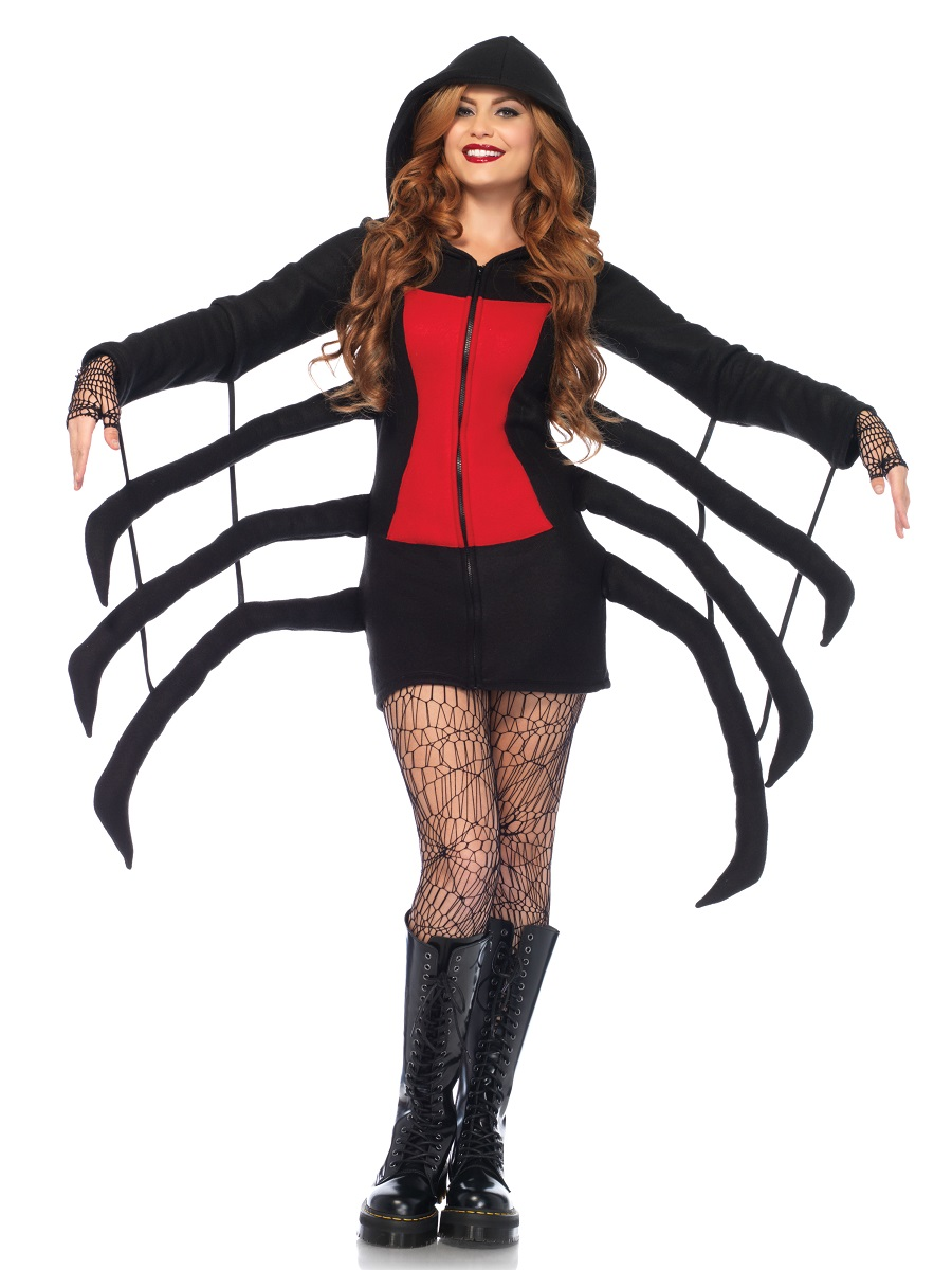 Adult cozy spider costume 85558 fancy dress ball adult cozy spider costume view full image solutioingenieria Images