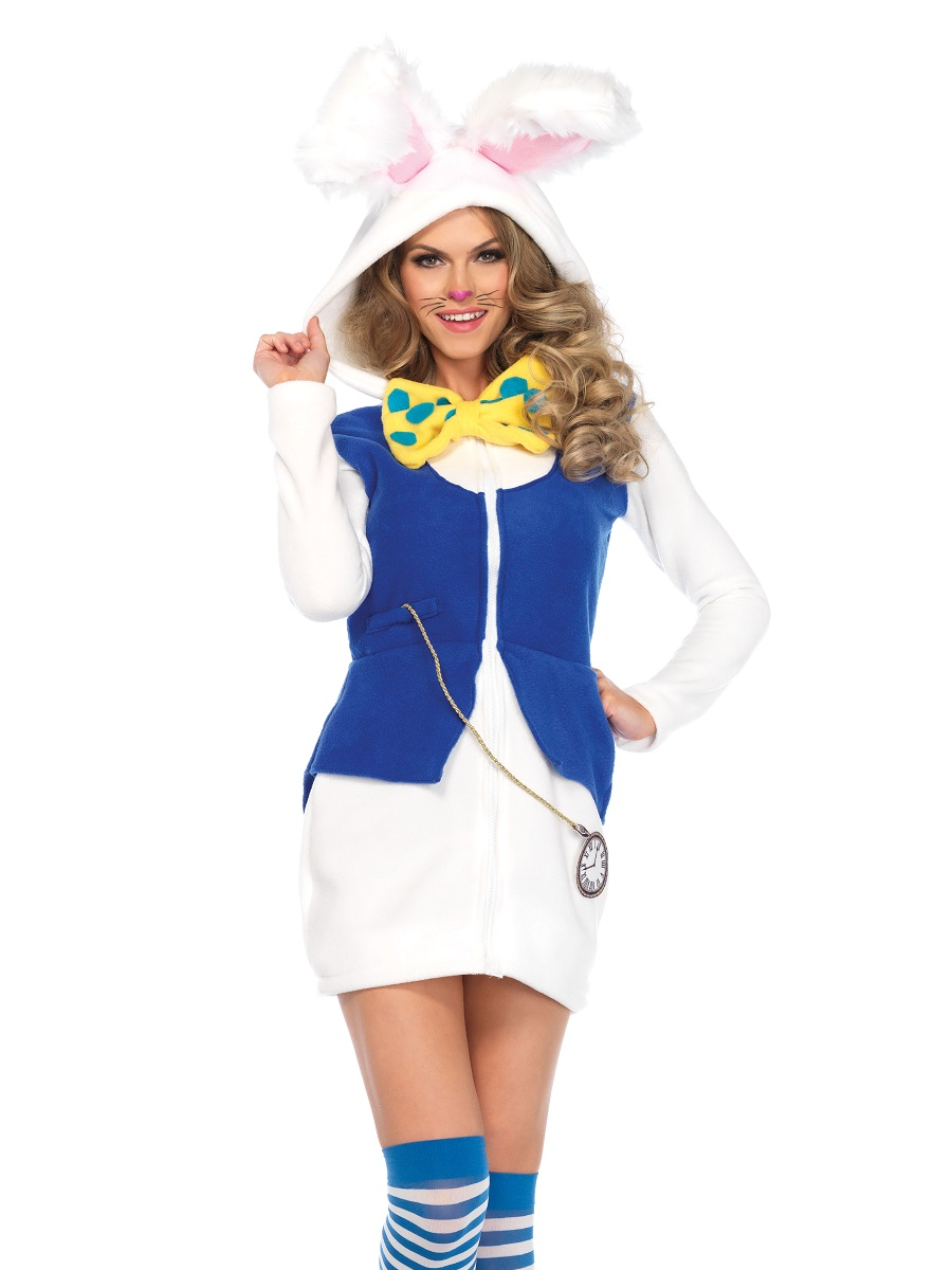 675feac22b5 Adult Cozy White Rabbit Costume - 85591 - Fancy Dress Ball