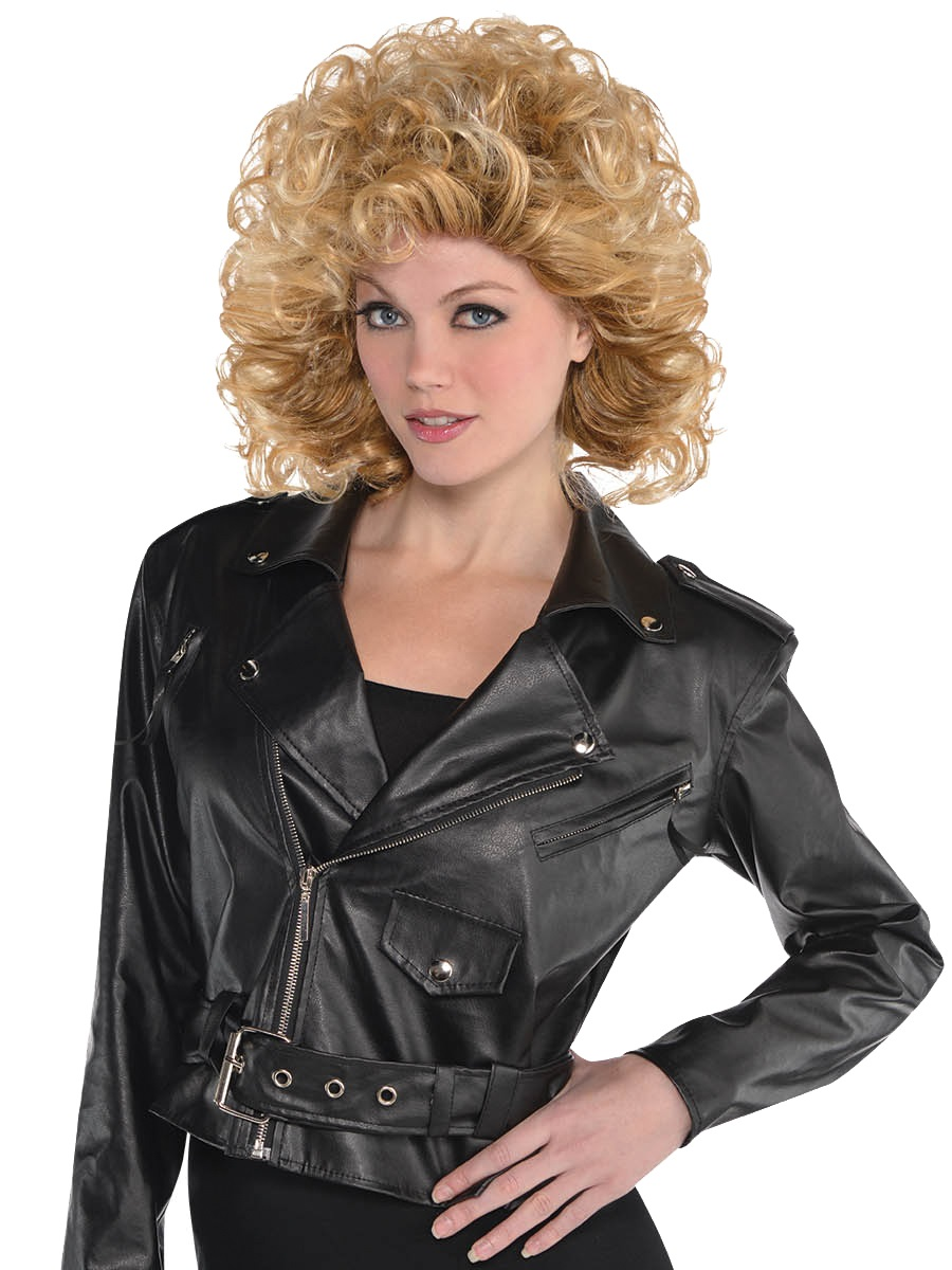 Adult Cropped Leather Jacket 845530 55 Fancy Dress Ball