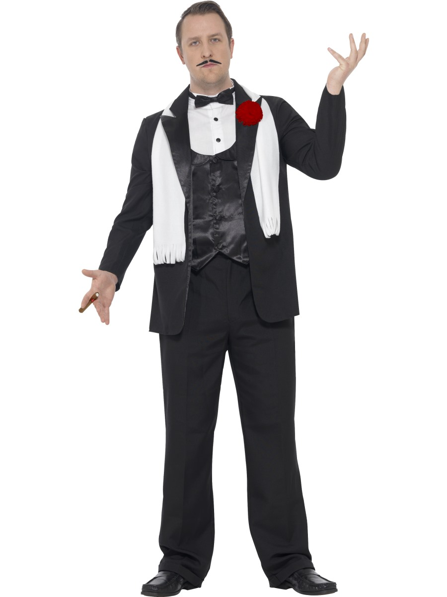 66b58ba19c5 Adult Plus Size Gangster Costume - 24468 - Fancy Dress Ball
