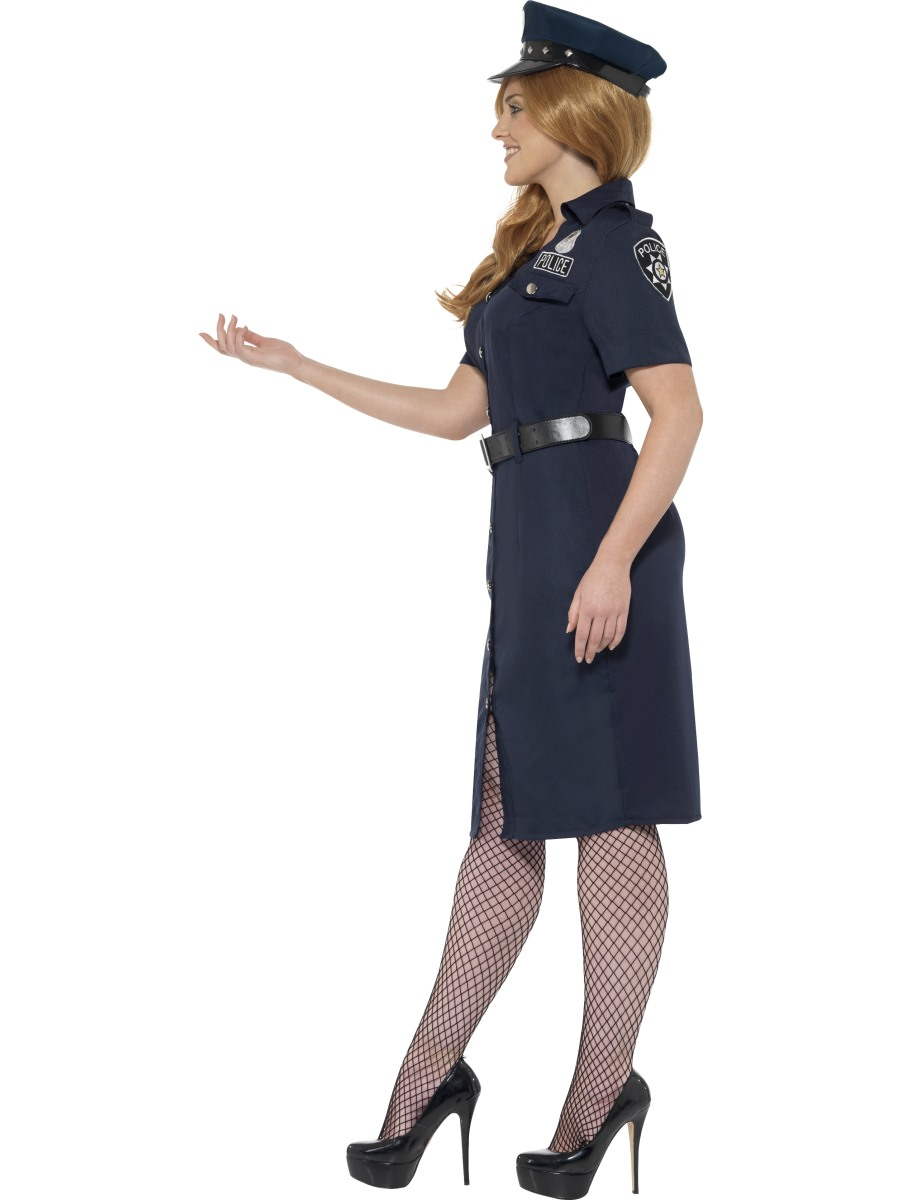 Adult Plus Size Curves Nyc Cop Costume 24451 Fancy