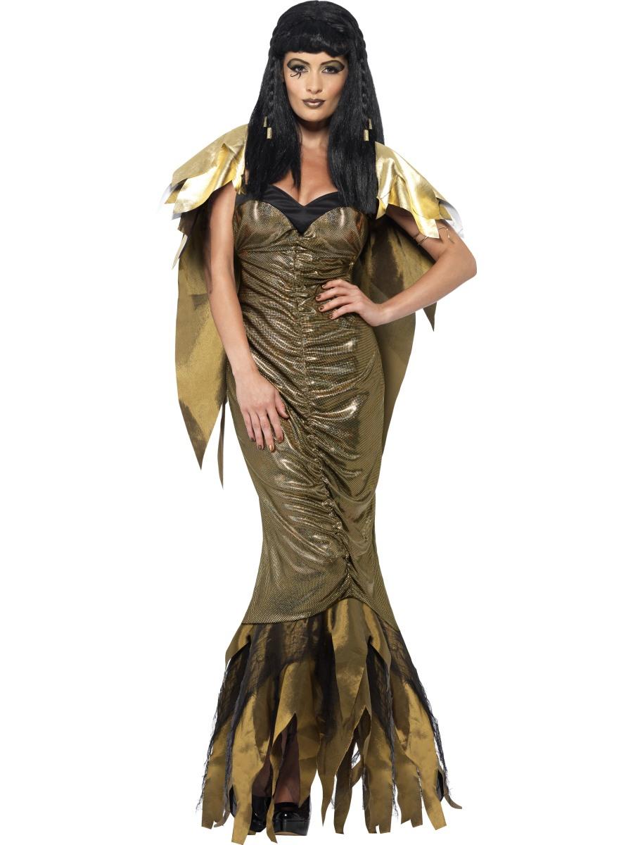 adult dark cleopatra costume - 40095 - fancy dress ball